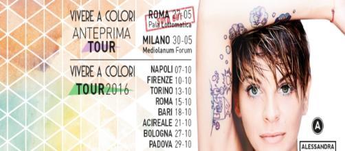 Alessandra Amoroso Tour 2016 (Ecco le prime date)