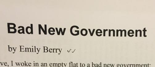 Bad New Government de Emily Berry