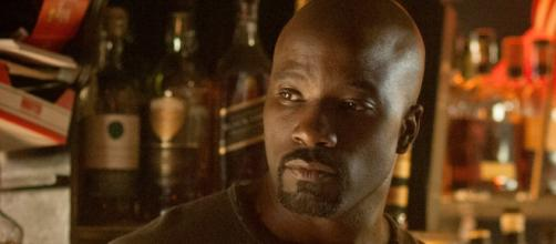 "Luke Cage at his bar in Hell's Kitchen [image via Netflix/""Marvel's Jessica Jones""]"