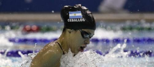 Podios y récord argentino de Macarena Ceballos en el tradicional Trofeo María Lenk