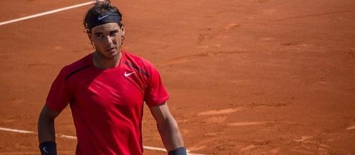 Rafael Nadal at Roland Garros in 2012/ Photo: Yann Caradec (Flickr) CC BY-SA 2.0
