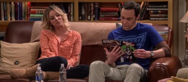 'Big Bang Theory' - 'The Viewing Party Combustion' screencap via CBS