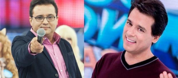 Geraldo Luís e Celso Portiolli - Foto/Montagem