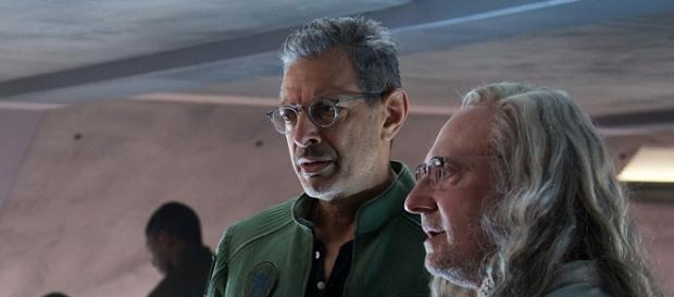 (L to R) Jeff Goldblum and Jeff Spiner of 'Independence Day: Resurgence'. Courtesy of 20th Century Fox.