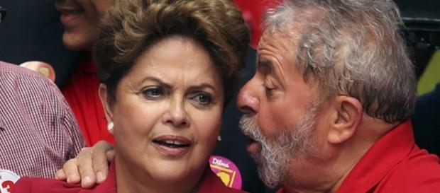Lula e Dilma - Imagem do Google