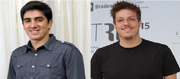 Marcelo Adnet e Fábio Porchat.
