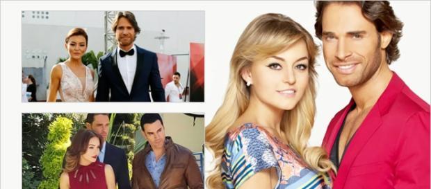 O casal Angelique e Sebastián estrelará a terceira novela juntos.