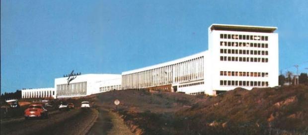 Sede da Karmann-Ghia no anos 70