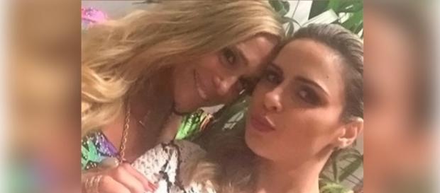 Susana Vieira e Ana Paula no 'Vídeo Show'
