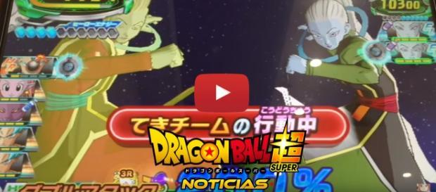Video de Vados y Wiss en Dragon Ball Heroes