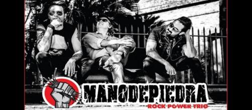 Manodepiedra, la banda que abrió para Vox Dei el pasado miércoles