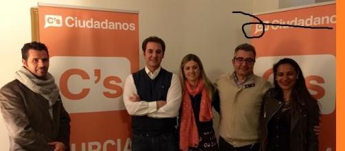 Ciudadanos de Murcia en presentación.