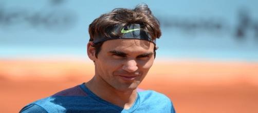 Federer at Madrid in 2015/ Photo: Tatiana (Flickr) CC BY-SA 2.0