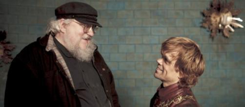 L'autore di Game of Thrones, George Martin