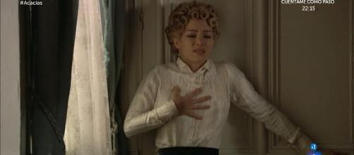 Una Vita, aprile: Cayetana è in realtà Anita, la figlia di Fabiana