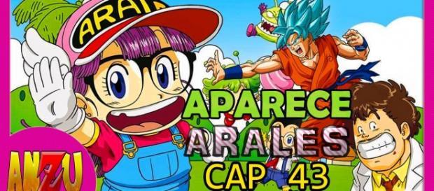 Arale y Goku se reencontraran muy pronto.