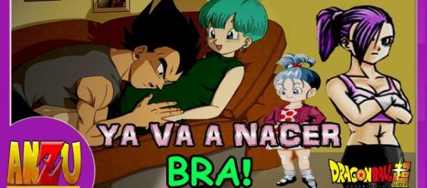 Bulma, Vegeta, Trunks y Bra, por fin se completa la familia