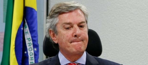 Collor é senador pelo PTC de Alagoas