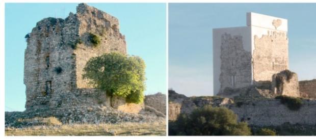 El Castillo de Matrera, en Villamartín, provincia de Cádiz, es el protagonista de esta polémica obra de restauración monumental