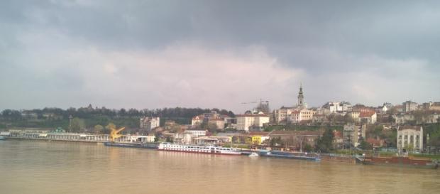 Foto panoramica di Belgrado,Serbia