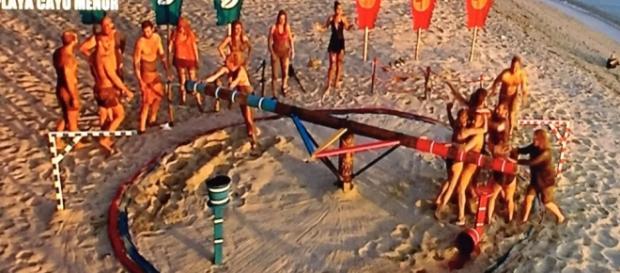 Los concursantes luchan por vivir en Plaua Paraíso