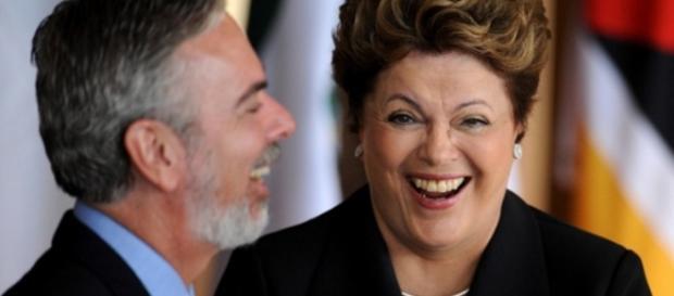 Patriota e Dilma Rousseff - Imagem/Google