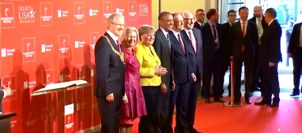 Reunion de Hannover Cap de pantalla EFE