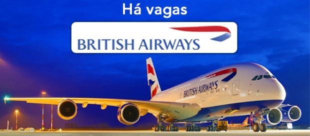 Vagas abertas na British Airways - Foto: Reprodução New-corner