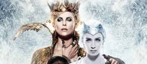 """La locandina de """"Il cacciatore e la regina di ghiaccio"""""""