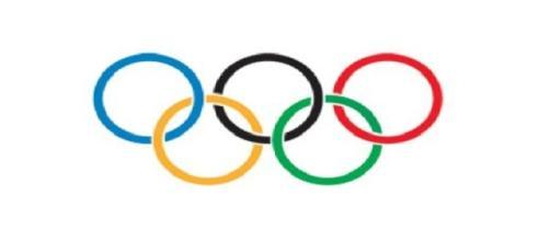os arcos olímpicos, símbolo das Olimpíadas