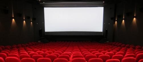 sala de proyección de películas vacía