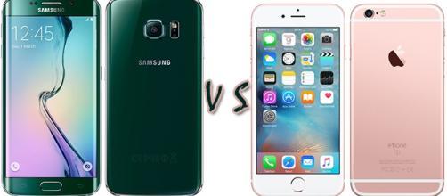 Samsung Galaxy S6 Edge vs Apple iPhone 6s