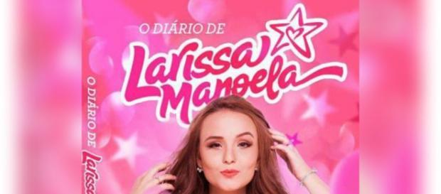 Atriz Larissa Manoela lança livro