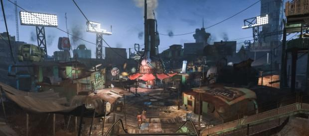 'Fallout 4' Diamond City screencap via John Schulze