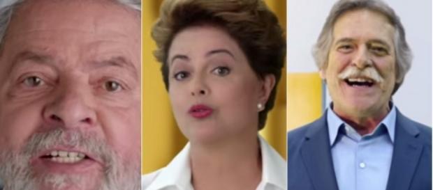José de Abreu cospe na cara de casal