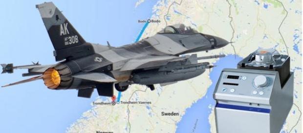 Misiune de salvare inedită pentru un avion de vânătoare F-16