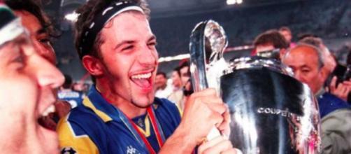 Alex Del Piero con la maglia della Juventus