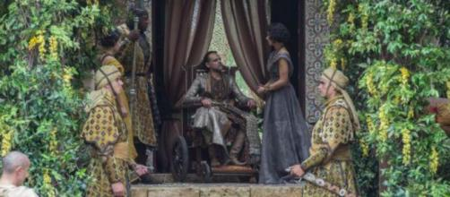 Doran Martell discute con Ellaria Sand