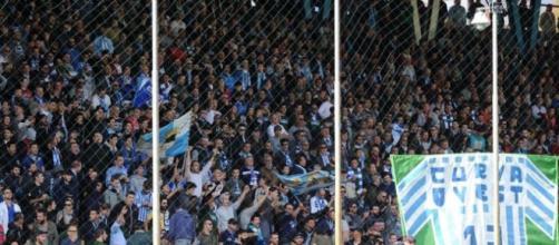 Lo stadio Paolo Mazza di Ferrara gremito di tifosi