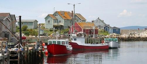 The Maritimes Fishing Village on the Atlantic