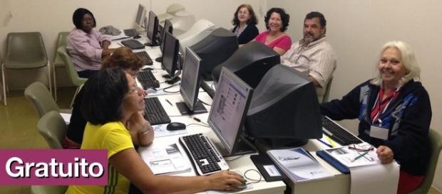 Alunos do Projeto Clicar em São Bernardo (Foto: Divulgação)