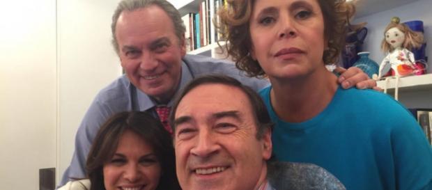 Bertin Osborne con Fabiola, Pedro Jota y Agatha