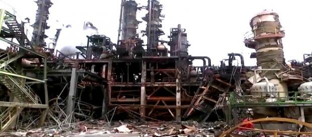 Explosión en la Refinaría de Pajaritos