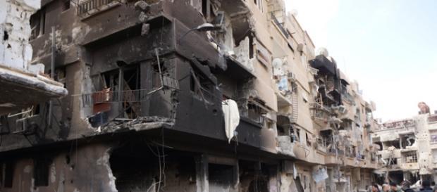 La destrucción en Daraya, la Stalingrado siria