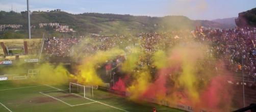 A Benevento atmosfera calda per il prossimo match.
