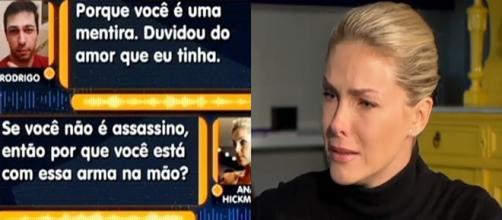 Áudio divulgado revela conversa de Ana com o fã