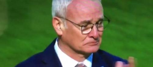 Claudio Ranieri, campione d'Inghilterra, con il Leicester