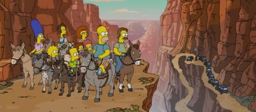 'The Simpsons' - 'Fland Canyon' screencap via Fox