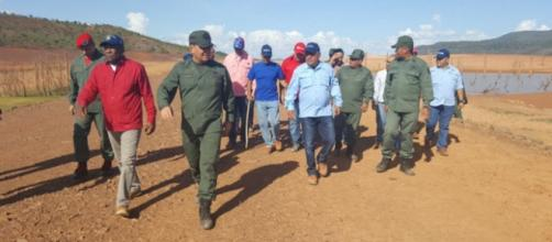 Vicepresidente venezolano inspeccionó represa de El Guri
