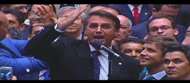 Bolsonaro na votação do Impeachment de Dilma Rousseff
